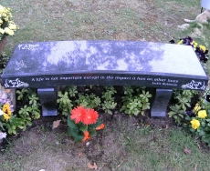 Product Code MB-5<br/><span>Memorial Bench 11<:span/></span>