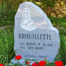 Product Code NB-12<br/><span>Natural Boulder Memorial Monument 12<:span/></span>