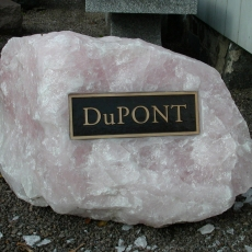 Product Code RQ-3<br/><span>Rose Quartz Memorial Monument 3<:span/></span>