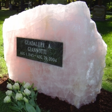 Product Code RQ-4<br/><span>Rose Quartz Memorial Monument 4<:span/></span>