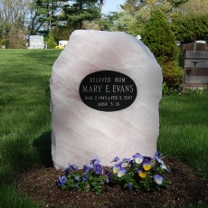 Product Code RQ-2<br/><span>Rose Quartz Memorial Monument 2<:span/></span>